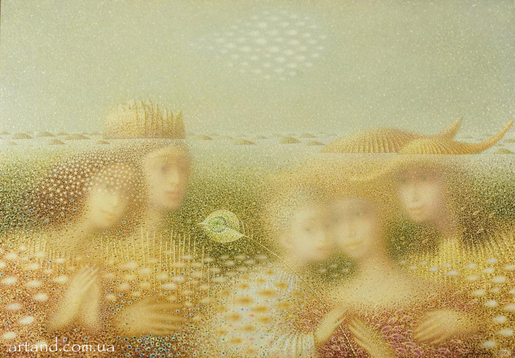 <strong>The Unsolved Dream</strong><br /><em>2002, 110х140</em>, Oil on canvas