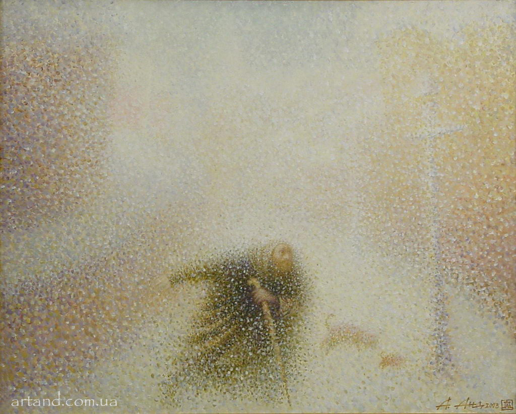 <strong>Snowstorm</strong><br /><em>2003, 40х50</em>, Oil on canvas